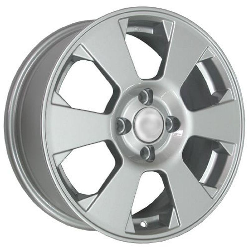 K&K KC718 Gentra 15x6.0 4x114.3 ET44 DIA56.6 Silver / Серебристый