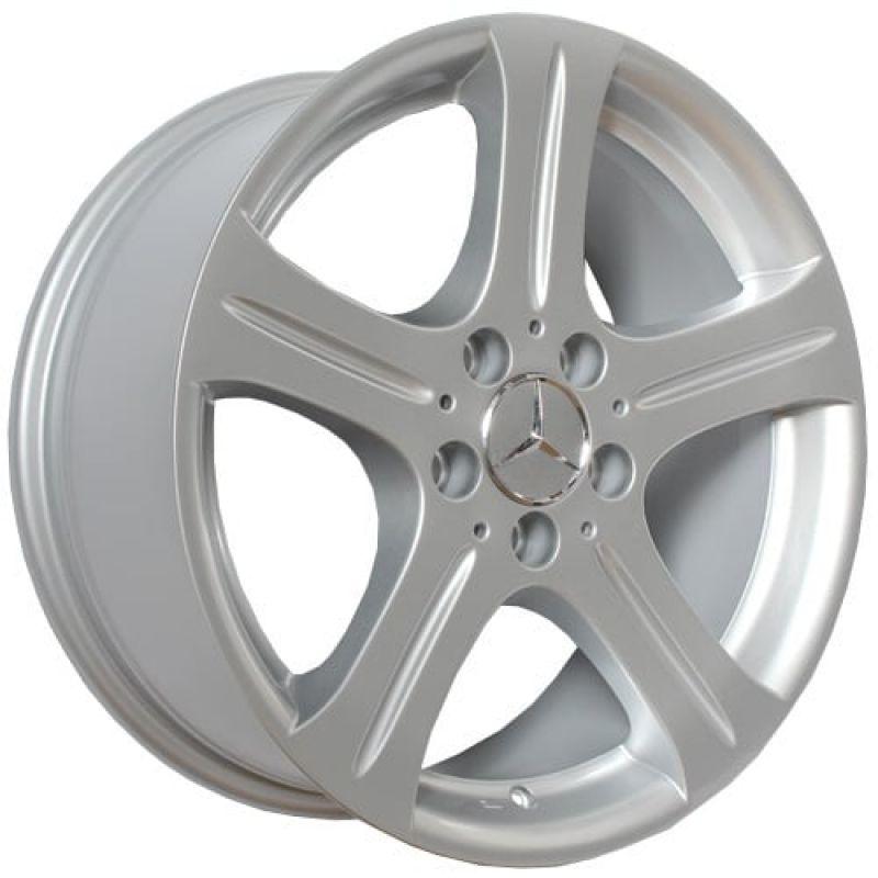 Mercedes MR25 15x7.0 5x112 ET25 DIA66.6 Silver / Серебристый