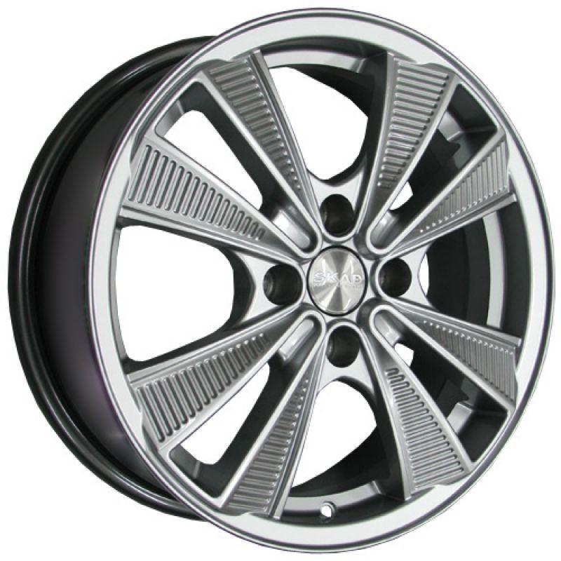 SKAD Eco 16x6.0 4x108 ET37.5 DIA63.35 Selena / Серебристый