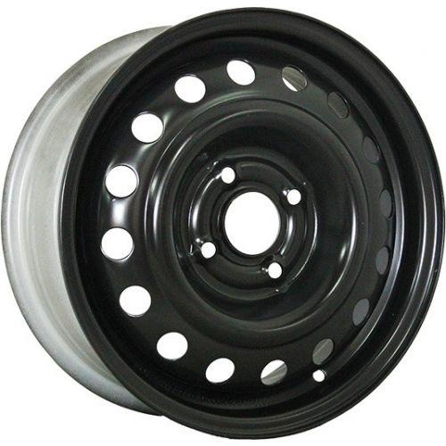 Trebl 53A49A 14x5.5 4x100 ET49 DIA56.6 Black